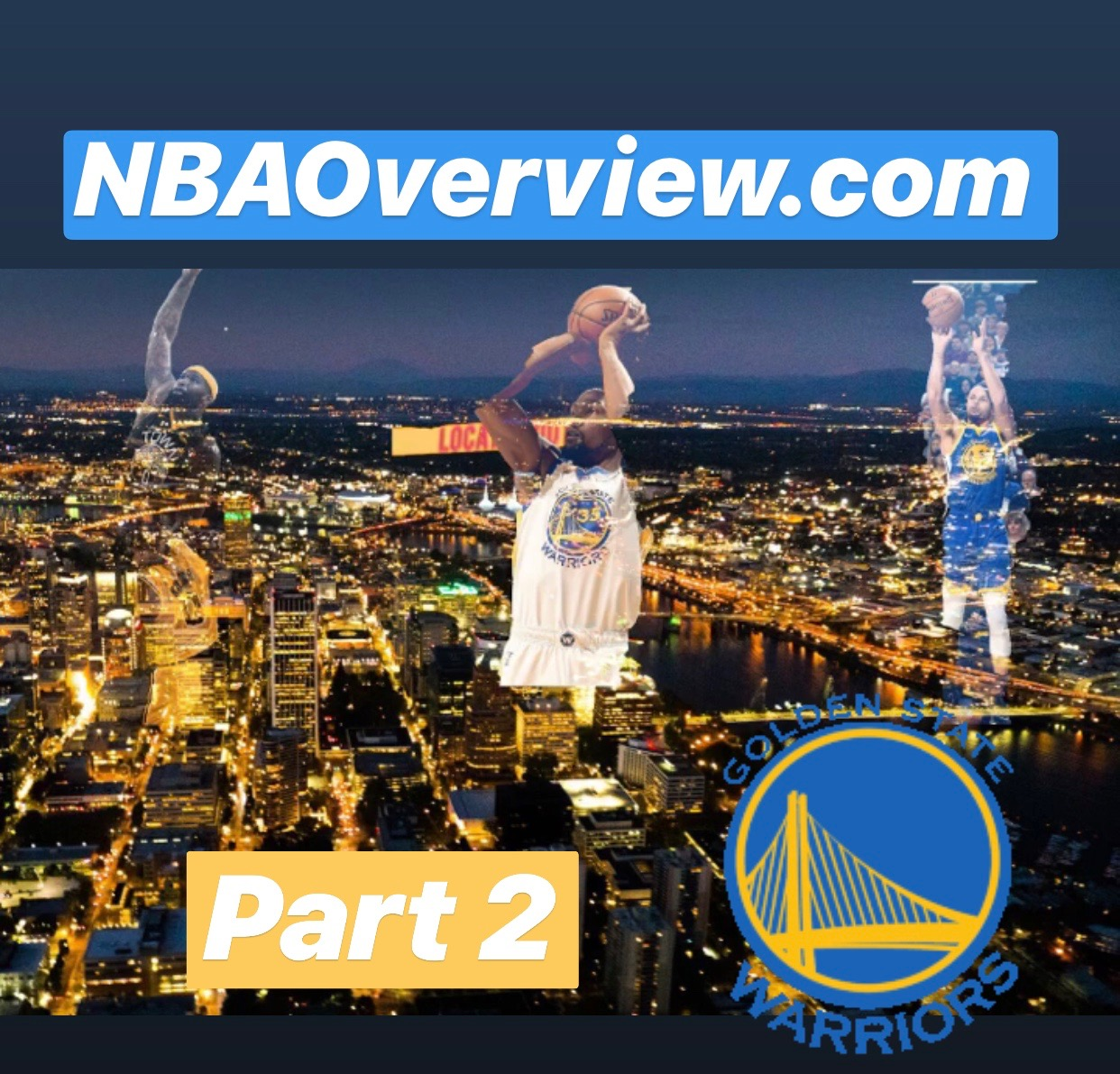 Are the Golden State Warriors unbeatable? Or will a team in the west beat them? An overview of the NBA!