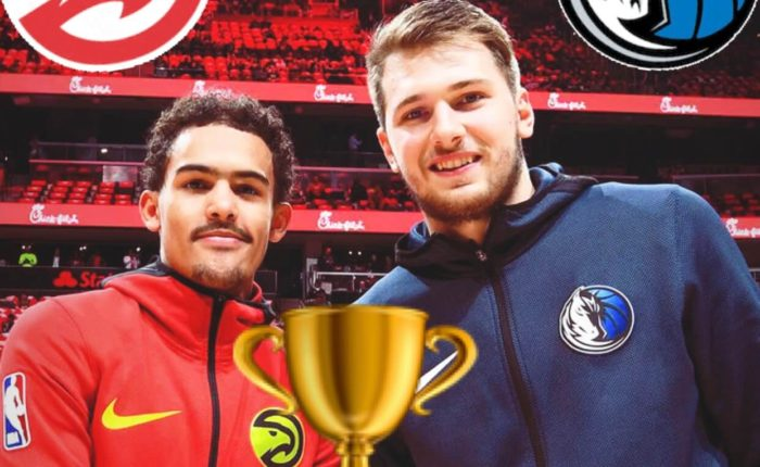 Rookies of the year? Trae Young and Luka Doncic had a tight battle for the award.