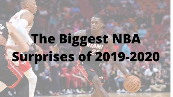 Early nba surprises in the 2019-2020 nba season.